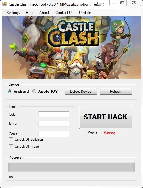 clash of trainer pc download